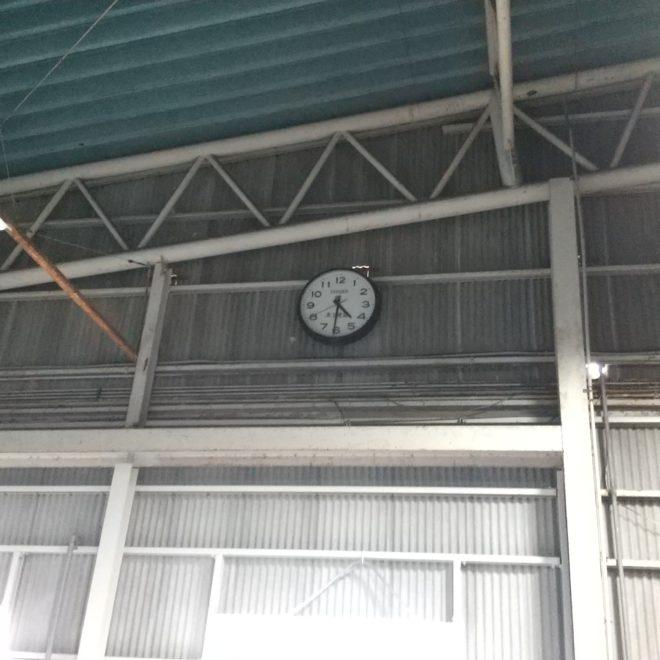 水産部の時計
